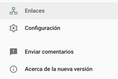 enlaces externos search console