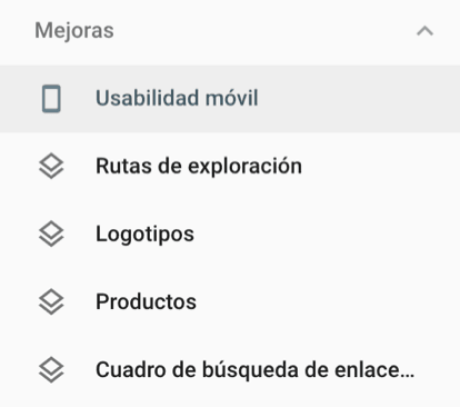 usabilidad movil search console