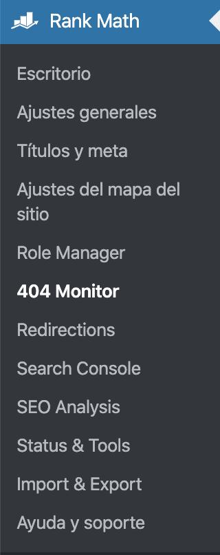 monitorizar enlaces 404